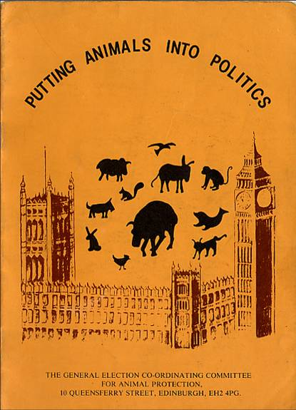 The first animal welfare manifesto published by GECCAP 1 for the 1979 general election.