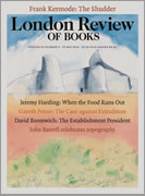 Jeremy Harding writes brilliantly about the future of food in this issue of the London Review of Books