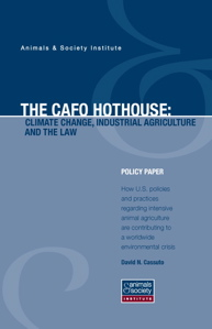 This policy paper explores how US policies and practices regarding intensive animal agriculture are contributing to a worldwide environmental crisis.