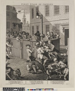 William Hogarth, The First Stage of Cruelty, 1751