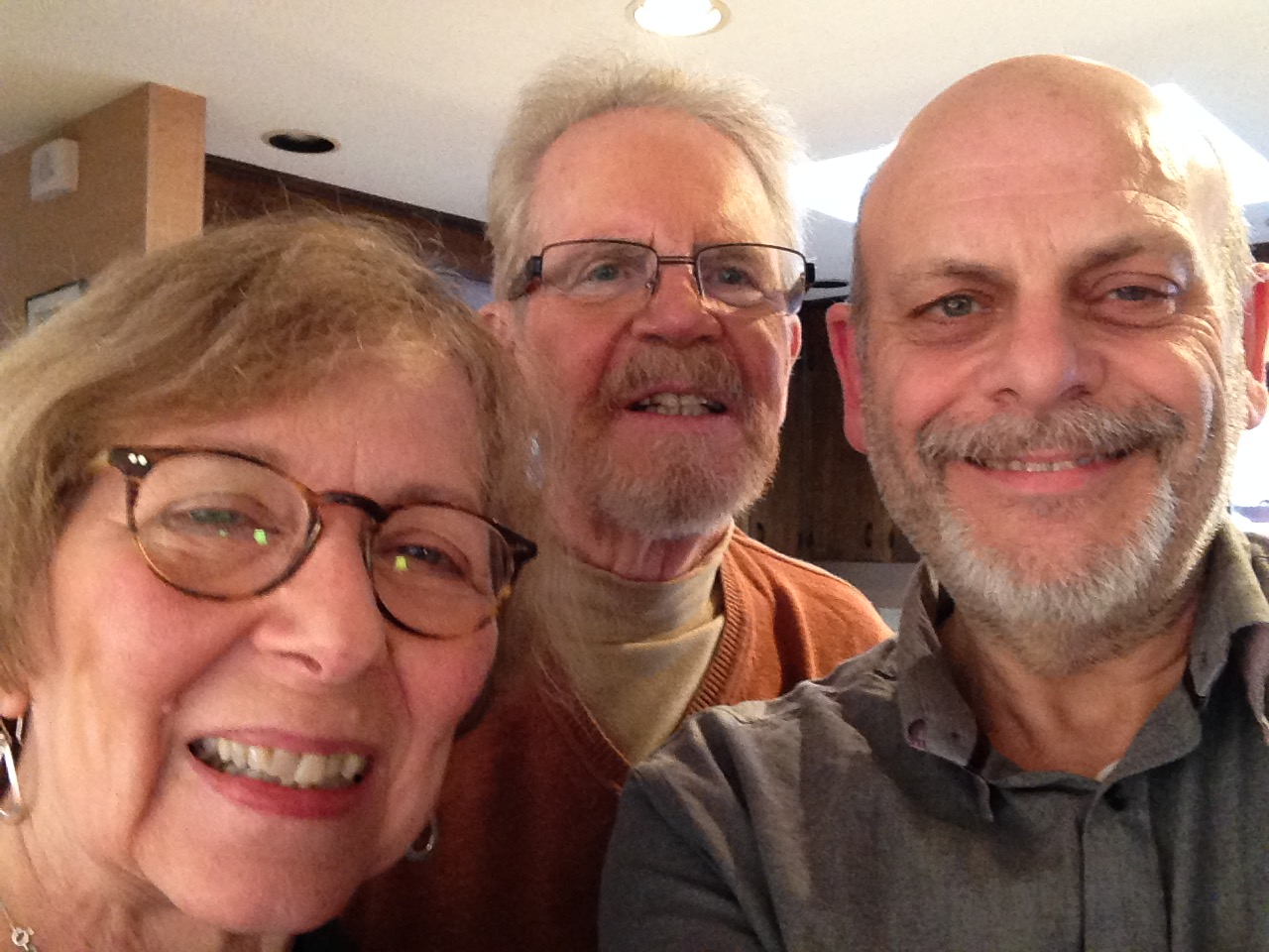 Nancy and Tom Regan and myself.
